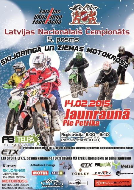 """Latvijas Nacionālā Čempionāta 5. posms Jaunraunā """"Pie Petrika"""" uz Startu ezera"""