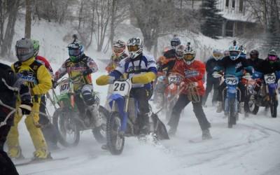 Aizvadīts jau trešais un ceturtais LNČ posms moto skijoringā